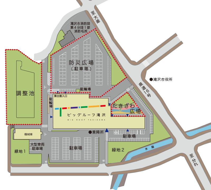 アクセスマップ:施設全体図